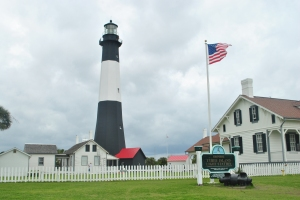 Tybee Lighthouse, which looks closely enough to the Fire Island Lighthouse to make me homesick.